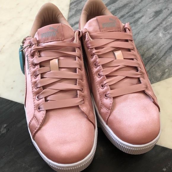 80fe910f5f25 NWT Puma Blush Vikky Platform EP Shoes size 7.5